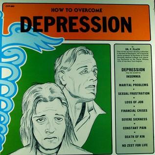 Depression poster. (Credit: Kevin Dooley, Flickr.)