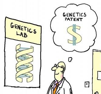 gene patent cartoon madden e