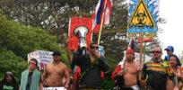 AntiGMO thugs march