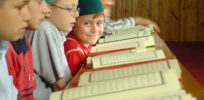 little boy reads quran