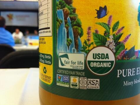 Organic Label x