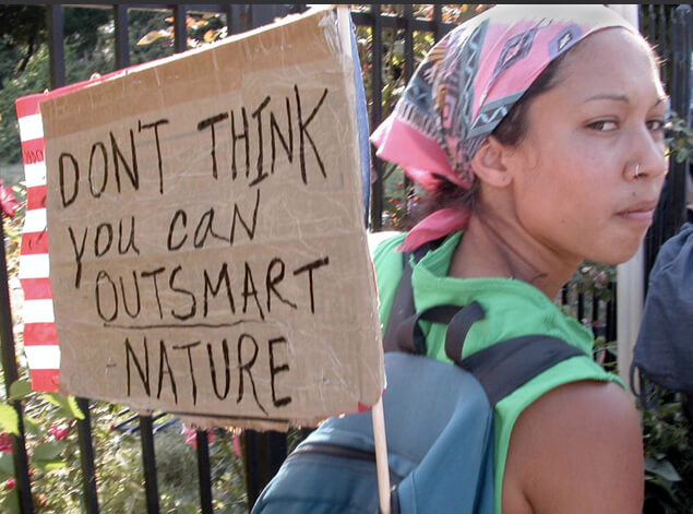 sacto cant outsmart nature
