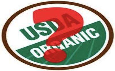 USDA Organic x