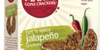 Marys Gone Crackers Organic Gluten Free Crispy Crackers Hot n Spicy Jalapeno