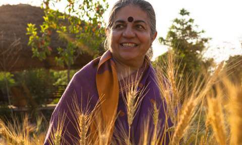 prof Vandana Shiva