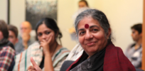 PBS's John Hockenberry challenges Vandana Shiva on GMO misstatements