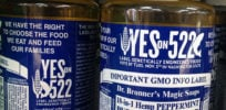 Should Science and Nature run advertorial by wacky Dr. Bronner's that misleads on GMOs?