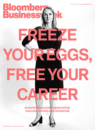 freeze your eggs bloomberg cover