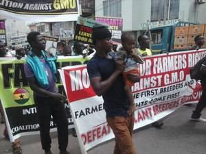ghana anti gmo protest