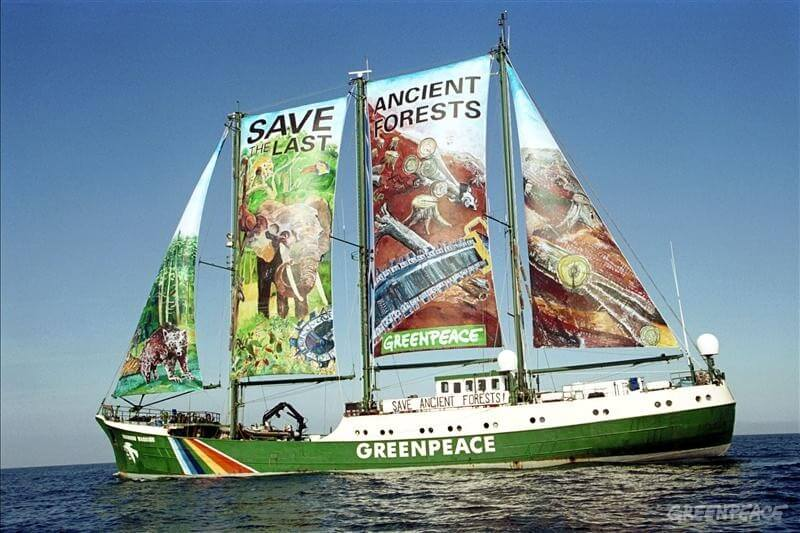 the history of the greenpeace ships On the 15th of september 1971, greenpeace was founded by the man called patrick moore and his best friend bob hunter it started when a charted ship called the phyllis cromack was renamed and called greenpeace for a protest against the nuclear movment in vancouver.