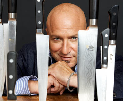 Tom Colicchio: NBC Celebrity chef leads campaign against GMOs, promotes organic foods