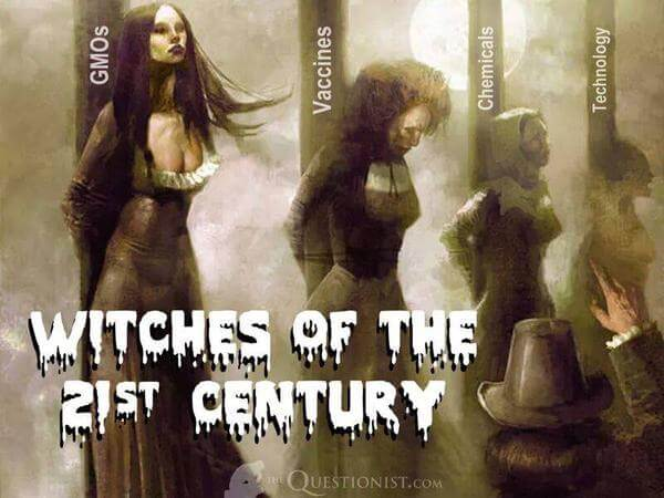 Witches of the 21st century: Science?
