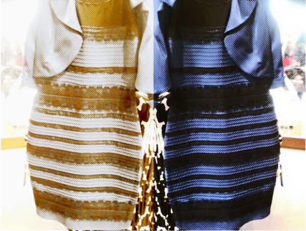 Dress Blue Black White Gold Original Picture Of Guru Black Dress