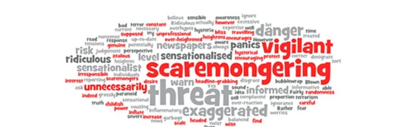 scaremongering Wordle x x