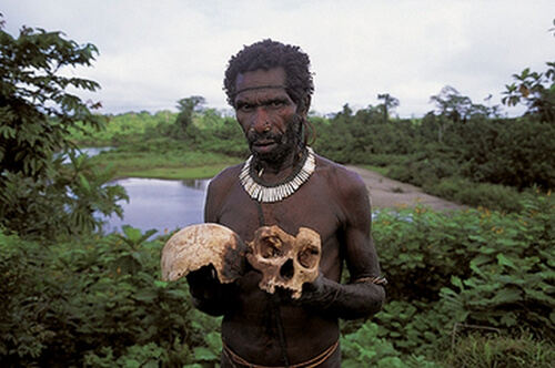 Fore tribe man