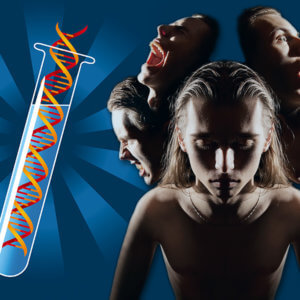 dt schizophrenia dna tube x