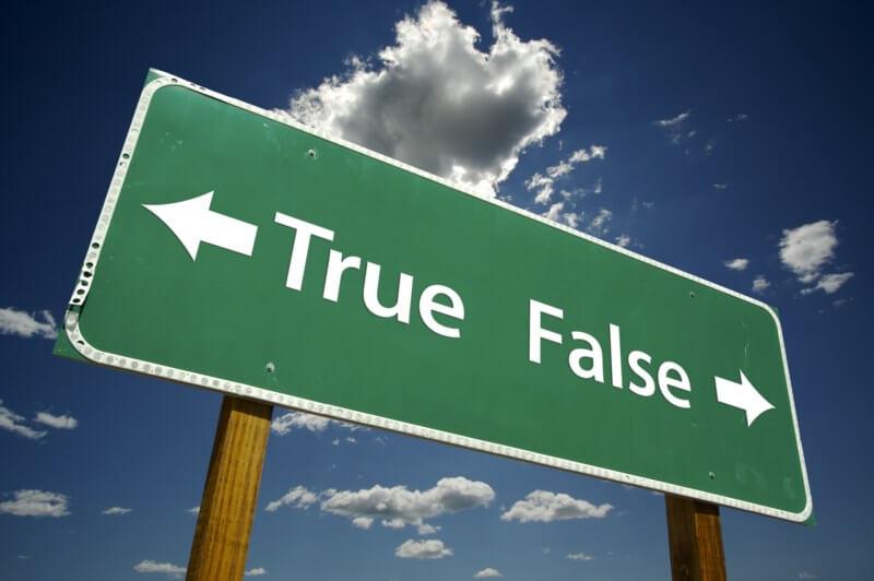 true false balance