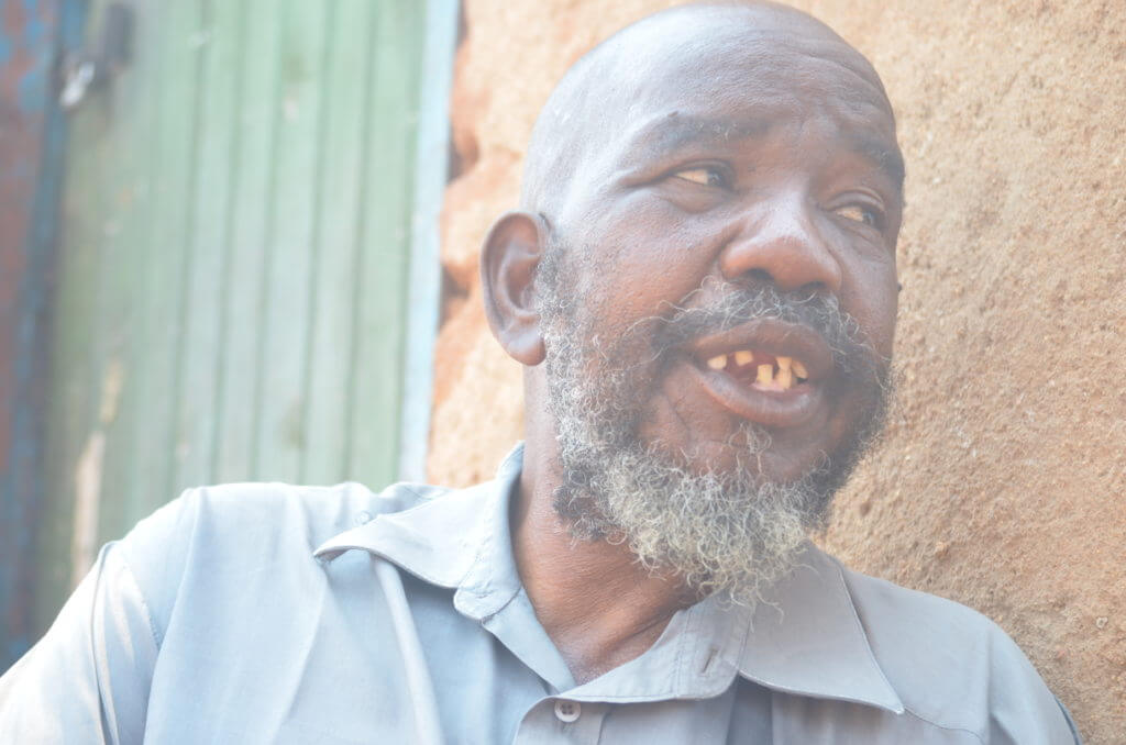 Shellington Tavaringana fears his family will not survive till the next harvest