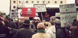 monsanto protest germany x