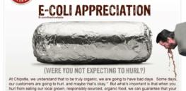 IMAGE: Chipotle's secret sauce — E. coli, but it's GMO-Free!