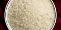 uncooked Thai jasmine rice