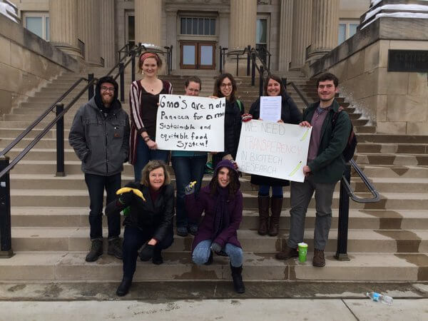 Petition delivery at ISU