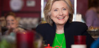 Hillary Clinton April