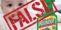 "Myth-busting site Snopes judges Food Babe's 'shocking report' of glyphosate in food ""FALSE"""
