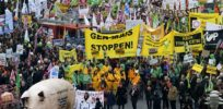 German GMO Protest
