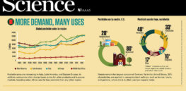 Infographic: More demand, many uses of pesticides worldwide