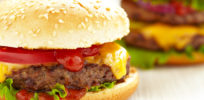 Does a burger from a hormone-treated cow pose a health problem? Maybe, if you eat the bun