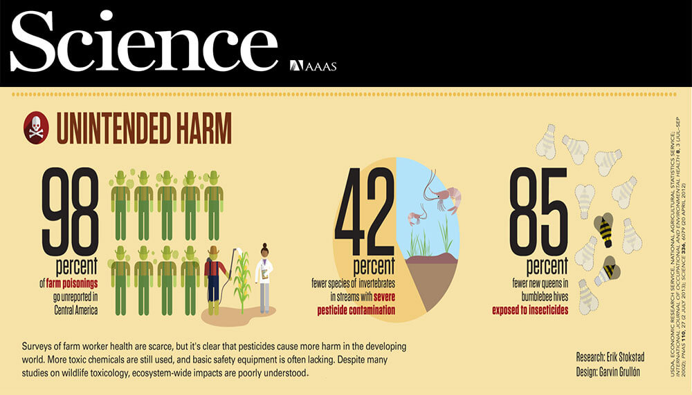 Infographic: Higher toxicity pesticides used in developing world pose environmental, health problems