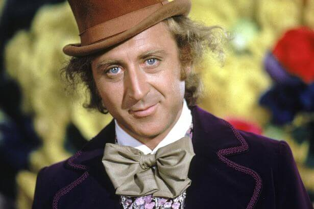 American actor Gene Wilder as Willy Wonka in Willy Wonka The Chocolate Factory