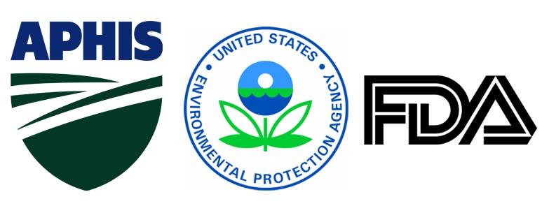 Logos FDA EPA APHIS