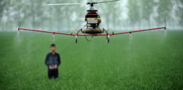 Agricultural drones offer high-tech relief for struggling farms