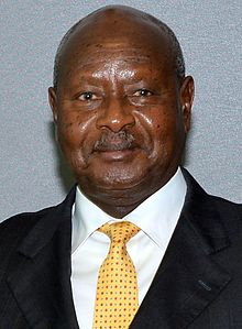 Yoweri Museveni September