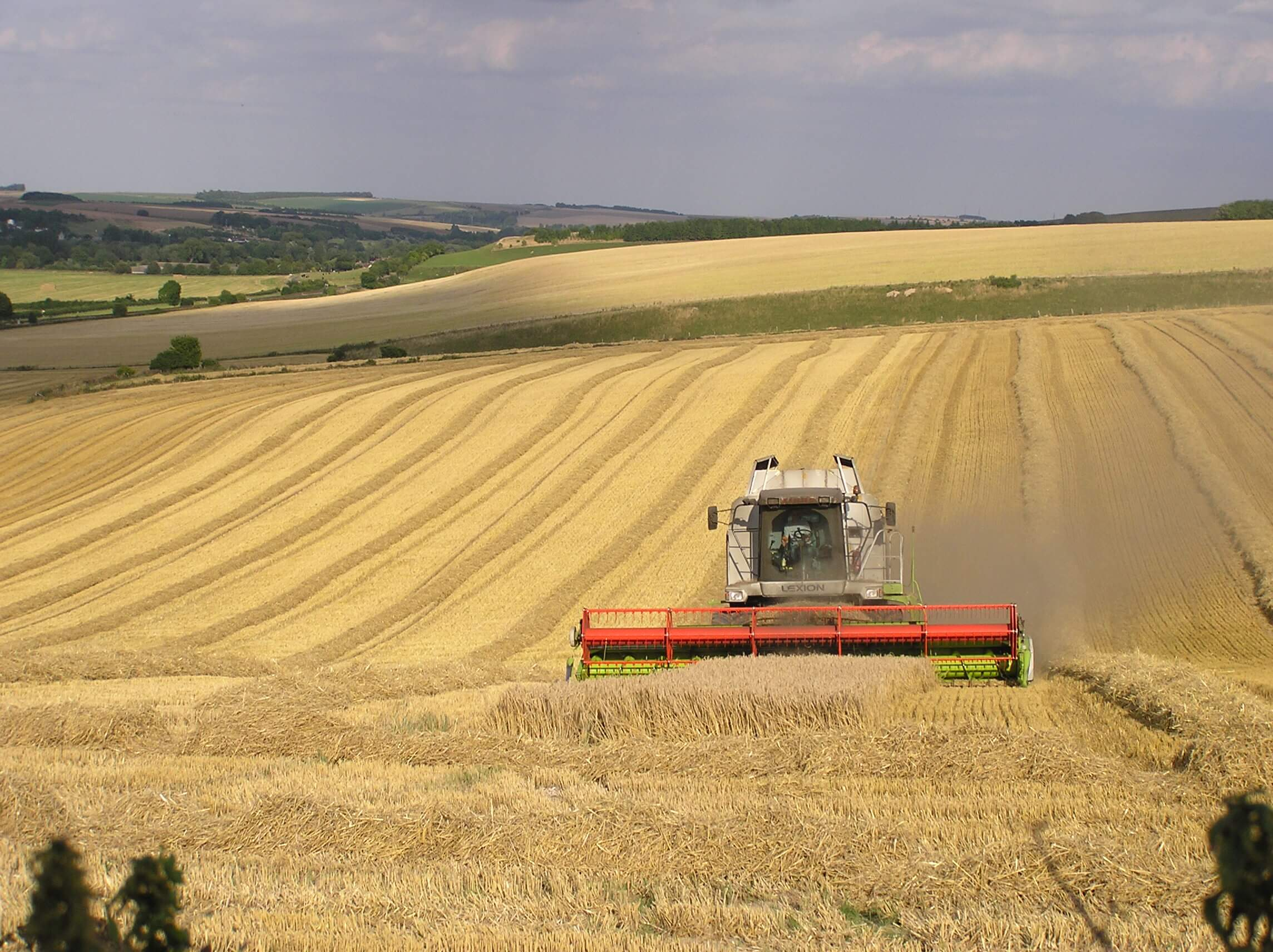farming harvest uk creditjohn herrett flickr