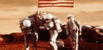 mars usa flag