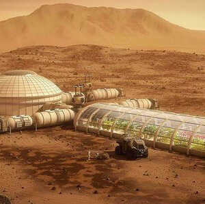 secret mars colony