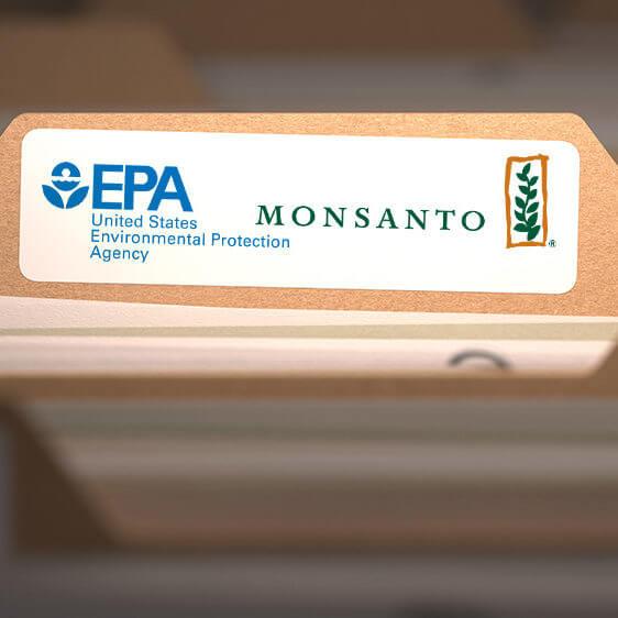 EPA Monsanto File Folder e
