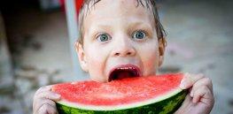 watermelon boy child