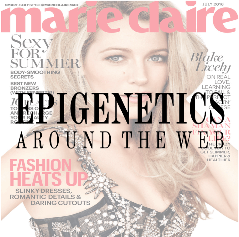 Epigenetics Around the Web: Marie Claire's missteps on probiotics and microbiome; Dad's role in fetal health