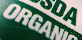 usda organic food label e