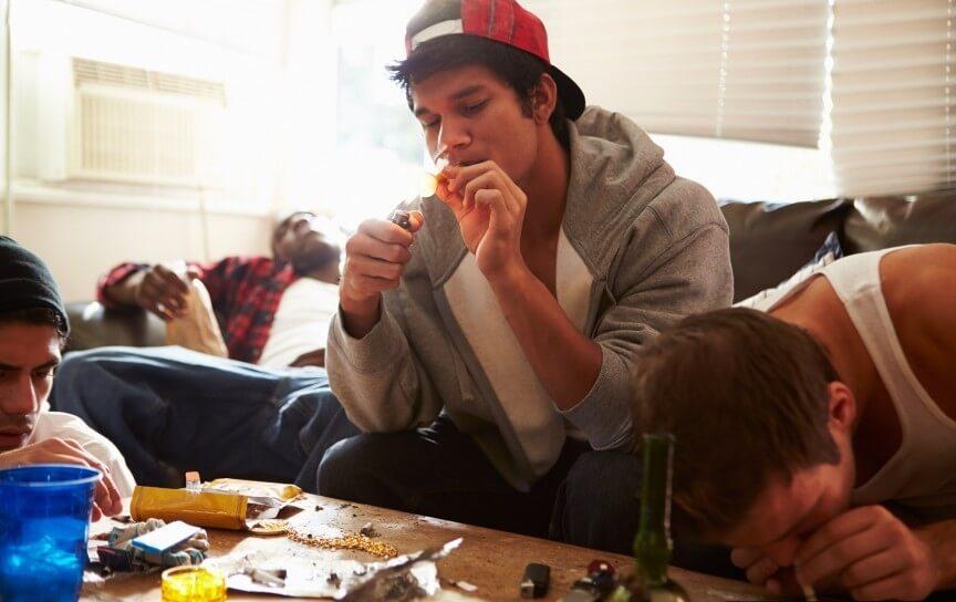 Teen drug abuse whose fault