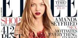 Amanda Seyfried ELLE Magazine August B e