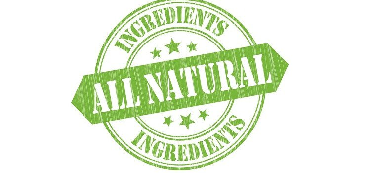 all natural food label