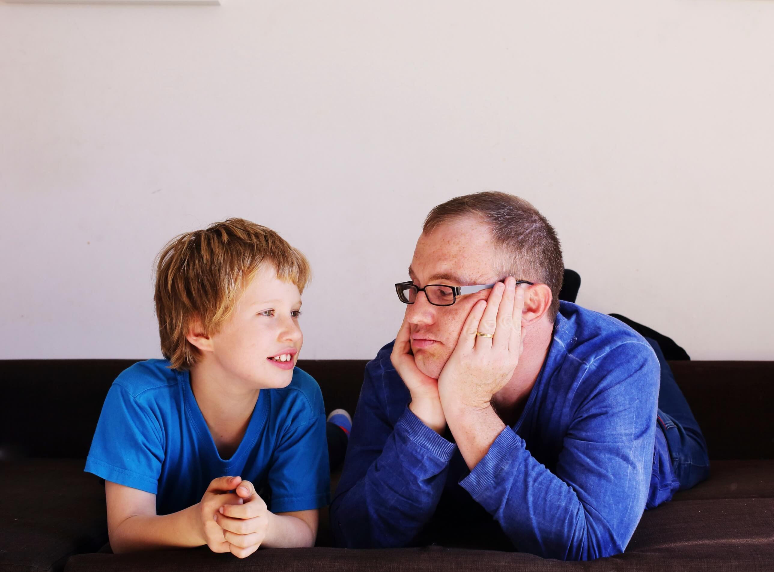 autism father son discussion