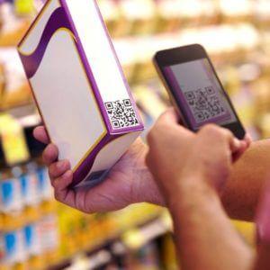future retail qr code scan