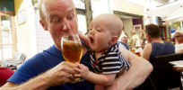 Alcohol consumption by fathers could lead to fetal alcohol syndrome