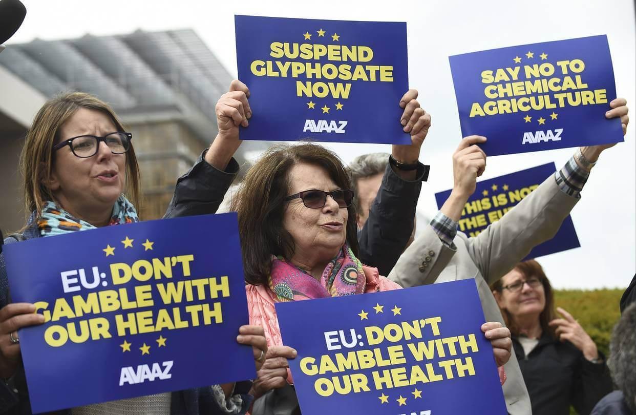 glyphosate protesters